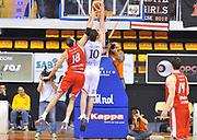 DESCRIZIONE : Biella Lega A 2011-12 Angelico Biella Cimberio Varese<br /> GIOCATORE : Albert Miralles<br /> SQUADRA : Angelico Biella <br /> EVENTO : Campionato Lega A 2011-2012 <br /> GARA : Angelico Biella Cimberio Varese <br /> DATA : 09/04/2012<br /> CATEGORIA : Schiacciata<br /> SPORT : Pallacanestro <br /> AUTORE : Agenzia Ciamillo-Castoria/ L.Goria<br /> Galleria : Lega Basket A 2011-2012 <br /> Fotonotizia : Biella Lega A 2011-12  Angelico Biella Cimberio Varese <br /> Predefinita