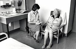Doctor Queen's Medical Centre, Nottingham, UK 1990