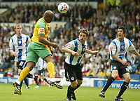 Photo: Aidan Ellis.<br /> Sheffield Wednesday v Norwich City. Coca Cola Championship. 06/05/2007.<br /> Norwich's deon dublin heads in there second goal