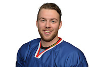 BUDAPEST, HUNGARY - APRIL 18:  Great Britain Ice Hockey Team Defenseman, Ben O' Connor. IIHF World Championship Division 1A (Photo by Dean Woolley)