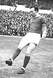 Norbert (Nobby) Stiles, wing-half with Manchester United.