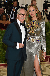 Tommy Hilfiger and Dee Hilfiger attending the Costume Institute Benefit at The Metropolitan Museum of Art celebrating the opening of Heavenly Bodies: Fashion and the Catholic Imagination. The Metropolitan Museum of Art, New York City, New York, May 7, 2018. Photo by Lionel Hahn/ABACAPRESS.COM