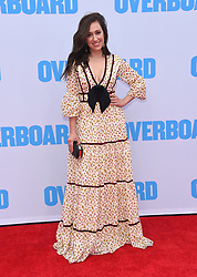 """Los Angeles premiere of """"Overboard"""" held at the Regency Village Theatre on April 30, 2018 in Westwood, CA. 30 Apr 2018 Pictured: Mariana Trevino. Photo credit: O'Connor/AFF-USA.com / MEGA TheMegaAgency.com +1 888 505 6342"""
