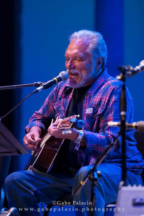 Jorma Kaukonen of Hot Tuna Acoustic performing at the American Roots Music Festival at Caramoor in Katonah New York..photo by Gabe Palacio