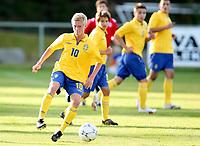 Fotball , 22. september 2009 , Privatkamp , G15 , Norge - Sverige 1-5<br /> Norway - Sweden U15<br /> Rasmus Lindgren , Sverige