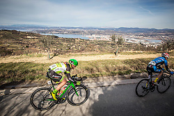 DRINOVEC Matej (SLO) and LEHNER Daniel (AUT)  during the UCI Class 1.2 professional race 4th Grand Prix Izola, on February 26, 2017 in Izola / Isola, Slovenia. Photo by Vid Ponikvar / Sportida