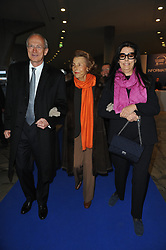 File photo - L'Oreal CEO Jean-Paul Agon, Liliane Bettencourt and his daughter Francoise Bettencourt-Meyers are pictured during a ceremony of 2011 L'Oréal-UNESCO For Women in Science Awards at l'Unesco headquarter in Paris France on March 3, 2011. Five exceptional women scientists, one from each continent, will receive the 2011 L'Oreal-UNESCO For Women in Science Awards. Liliane Bettencourt has died aged 94 it was announced on September 21, 2017. Bettencourt was the richest person in France and the third-richest woman in the world with a net worth of $40 billion. She was the sole heir to L'Oreal, the largest cosmetics company in the world, which was started by her father, and a large shareholder in Nestle. Nearly a decade ago a trial forced Liliane's personal business into the public light, laid bare her obsession with a flashy homosexual photographer whom she turned into a billionaire, destroyed her relationship with her daughter, turned a long time family butler against her, and, finally, turned the dowager heiress into even more of a recluse than she had been before. Photo by Thierry Orban/ABACAPRESS.COM