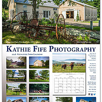 """A collection of 12 images from my newly published book, """"Rockledge Farm: c1870 Historic Barn Restoration Project."""" <br /> <br /> Includes dates of the Full Moon.<br /> <br /> Calendars are flat 11x14. Comes with a wire hanger. Printed on 13 sheets of sturdy and heavy stock with a vibrant matte finish. 30% FSC Recycled Paper, Acid Free and Archival, Elemental Chlorine Free.<br /> <br /> Calendar squares allow space to write in. Each month is printed on a single page (no worries about pen impressions ruining the beautiful photographs). Save the calendar and crop out the images for framing. The acid free paper ensures they won't turn yellow over time.<br /> <br /> The exquisite calendars make an excellent gift for someone who loves New Hampshire's landscapes and historic barns. But, once you see them, it will be hard to part with it.<br /> <br /> You might want to order two!<br /> <br /> Limited quantity in stock. Order early.<br /> <br /> PROUDLY PRINTED in the USA!<br /> <br /> Ships at about 1.5# per calendar.<br /> Traditional Federal Holidays, Non-Traditional and some fun holidays.<br /> <br /> $35 each -- Cash or Check only.<br /> include $8 shipping per calendar<br /> <br /> Send check to:<br /> Kathie Fife Photography<br /> PO Box 127<br /> Canterbury NH 03224<br /> <br /> Thank you"""