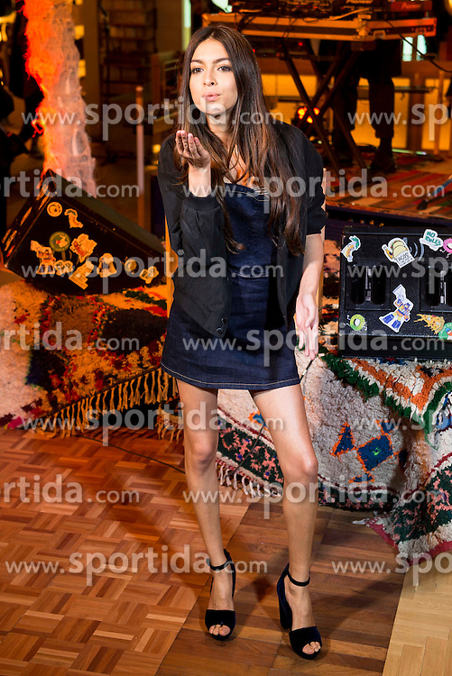 03.12.2015, Madrid, ESP, opening party, World big store of PULL & BEAR, im Bild Lucia Rivero Romero // during the opening party of the World big store of PULL & BEAR in Madrid, Spain on 2015/12/03. EXPA Pictures © 2015, PhotoCredit: EXPA/ Alterphotos/ BorjaB.hojas<br /> <br /> *****ATTENTION - OUT of ESP, SUI*****