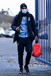 Josh Grant of Bristol Rovers arrives at Memorial Stadium prior to kick off - Mandatory by-line: Ryan Hiscott/JMP - 27/10/2020 - FOOTBALL - Memorial Stadium - Bristol, England - Bristol Rovers v Hull City - Sky Bet League One