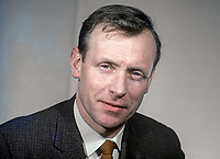 William Boyd, aka Billy Boyd, candidate, Woodvale, Belfast, NILP, N Ireland Labour Party, general election, N Ireland Parliament, Stormont, February 1969. 196902000050b<br /> <br /> Copyright Image from Victor Patterson, 54 Dorchester Park, Belfast, UK, BT9 6RJ<br /> <br /> t1: +44 28 9066 1296 (from Rep of Ireland 048 9066 1296)<br /> t2: +44 28 9002 2446 (from Rep of Ireland 048 9002 2446)<br /> m: +44 7802 353836<br /> <br /> victorpattersonbelfast@gmail.com<br /> victorpatterson@me.com<br /> <br /> www.victorpatterson.com<br /> <br /> Please see my Terms and Conditions of Use at https://www.victorpatterson.com/page2<br /> It is IMPORTANT that you familiarise yourself with them.<br /> <br /> Images used on the Internet incur an additional cost and must be visibly watermarked i.e. © Victor Patterson within the body of the image and copyright metadata must not be deleted. Images used on the Internet have a size restriction of 4kbs and are chargeable at rates available at victorpatterson.com.<br /> <br /> This image is available only for the use of the download recipient i.e. television station, newspaper, magazine, book publisher, etc, and must not be passed on to any third party. It is also downloaded on condition that each and every usage is notified within 7 days to victorpatterson@me.com<br /> <br /> The right of Victor Patterson (or the named photographer) to be identified as the author is asserted in accordance with The Copyright Designs And Patents Act (1988). All moral rights are asserted.