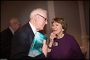 JOAN BAKEWELL, James Naughtie: The Madness of July published by Head of Zeus - book launch party, ICA, London. 25 February 2014.