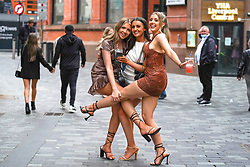 © Licensed to London News Pictures. 28/05/2021. Liverpool,UK. Revellers make the most of the Bank Holiday weekend in Liverpool. Photo credit: Ioannis Alexopoulos/LNP
