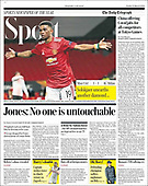 March 12, 2021 (UK): Front-page: Today's Newspapers In United Kingdom