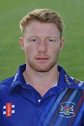 Gloucestershire player, Liam Norwell - Photo mandatory by-line: Dougie Allward/JMP - 07966 386802 - 10/04/2015 - SPORT - CRICKET - Bristol, England - Bristol County Ground - Gloucestershire County Cricket Club Photocall.