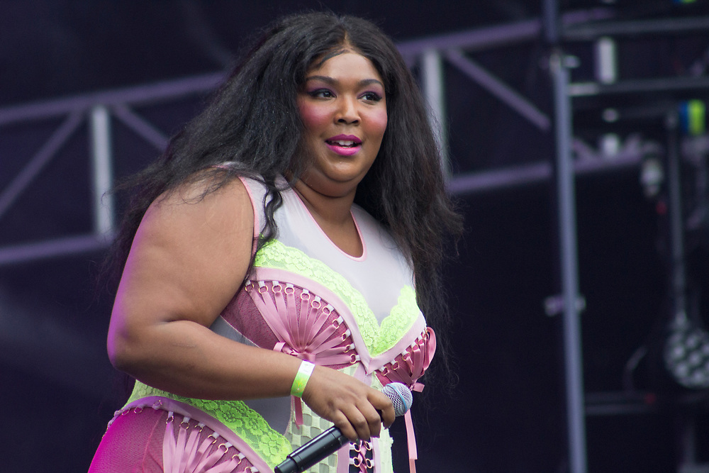 Lizzo performs at Philadelphia's Made In America on September 2, 2017.