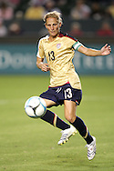 25 August 2007: US forward Kristine Lilly recorded her 100th career assist on a first half goal by teammate Shannon Boxx (not pictured). The United States Women's National Team defeated the Women's National Team of Finland 4-0 at the Home Depot Center in Carson, California in an International Friendly soccer match.