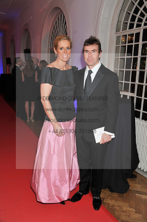 PAUL & VICTORIA STEWART at the Cord Club's 'Wings For Life' Ball held at One Marylebone, London on 28th February 2013.