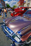 Historic car street show, antique Studebaker, Millville, NJ
