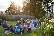 Saffron Fields Vineyard fireworks celebration, Juy 3 2020, Yamhill-Carlton AVA, Willamette Valley, Oregon