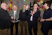 31/01/2018  retro free :  ProfessorPat Dolan,UNESCOChair in Children, Youth and Civic Engagement,Hannah Kiely, Galway 2020, Roberto Frabetti Project Manager of Small size,  Mayor of Galway Pearce Flannery and Aislinn Ó hEocha Artistic Director Baboro at the launch of  at the launch of Wide Eyes, a unique one-off European arts extravaganza for babies and children aged 0 – 6. Hosted by Baboró, Wide Eyes will take place in Galway till Sun 4 February. This imaginative programme will feature 15 new theatre and dance shows from some of Europe's finest creators of Early Years work from Austria, Belgium, Denmark, Finland, France, Germany, Hungary, Italy, Poland, Romania, Slovenia, Spain, Sweden, UK and Ireland. For more see www.wideeyesgalway.ie<br /> <br /> Wide Eyes will welcome almost 200 artists and arts professionals from almost 20 countries to enthral and engage children over four jam-packed days. Photo:Andrew Downes, XPOSURE
