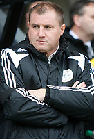 Photo: Steve Bond/Sportsbeat Images.<br /> Derby County v Blackburn Rovers. The FA Barclays Premiership. 30/12/2007. Paul Jewell in the dugout