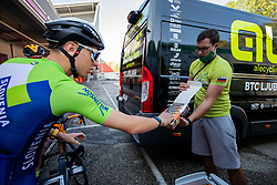Tadej Pogacar of Team Slovenia during Practice session at UCI Road World Championship 2020, on September 25, 2020 in Imola, Italy. Photo by Vid Ponikvar / Sportida