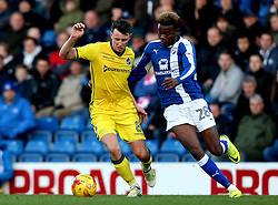 Ollie Clarke of Bristol Rovers goes past Gboly Ariyibi of Chesterfield - Mandatory by-line: Robbie Stephenson/JMP - 26/11/2016 - FOOTBALL - The Proact Stadium - Chesterfield, England - Chesterfield v Bristol Rovers - Sky Bet League One