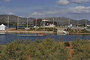 Marathon, GREECE, General views, Lake Schinias Rowing Course, venue for the 2004 Athens Olympic Games and 2008 FISA European Rowing Championships. Thur's.18.09.2008  [Mandatory Credit Peter Spurrier/ Intersport Images] , Rowing Course; Lake Schinias Olympic Rowing Course. GREECE