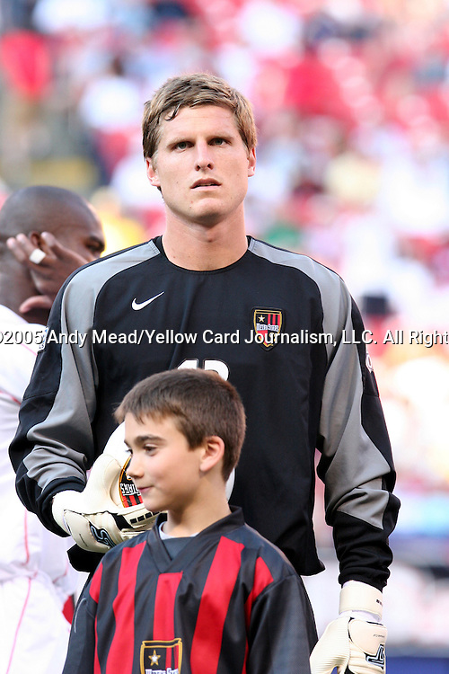 31 May 2004: Zach Wells. The MetroStars defeated the Chicago Fire 2-1 at Giants Stadium in East Rutherford, NJ during a regular season Major League Soccer game..