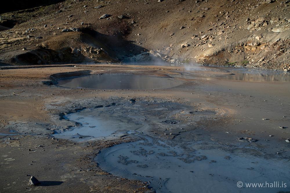 Geothermal area at Krysuvik,Iceland - Jarðhitasvæðið við Krýsuvík