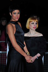 © Licensed to London News Pictures. 19/01/2012. London, England.Zawe Ashton and Carol Morley attends The Critics Choice Movie Awards 2012 at the BFI on the southbank in London  Photo credit : ALAN ROXBOROUGH/LNP