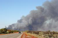 Bush fire, great sandy desert