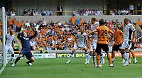 Wolverhampton Wanderers/Fulham Premier League 21.08.11<br />Photo: Tim Parker Fotosports International<br />Kevin Doyle Wolves scores 1st goal