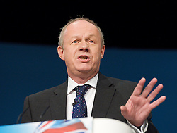Rt Hon Damian Green MP, Minister for Policing during the Conservative Party Conference, ICC, Birmingham, Great Britain, October 9, 2012. Photo by Elliott Franks / i-Images.