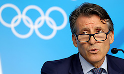 File photo dated 20-08-2016 of IAAF president Sebastian Coe