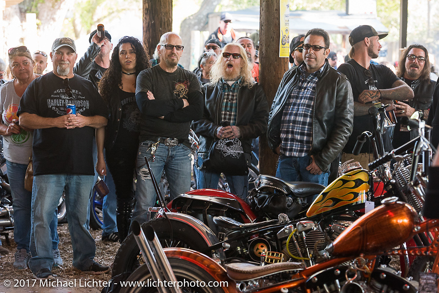 Awards at the Cycle Source bike show at the Broken Spoke Saloon during Daytona Beach Bike Week. FL. USA. Tuesday, March 14, 2017. Photography ©2017 Michael Lichter.