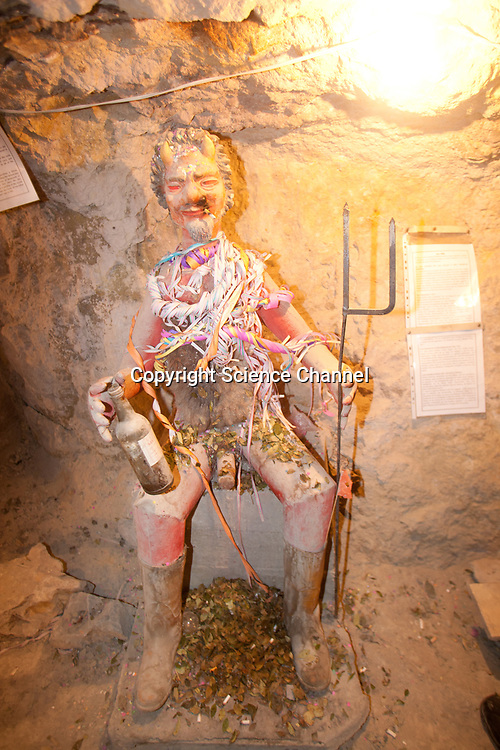 Potosi Bolivia miners mining silver ore