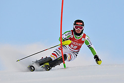 16.11.2013, Levi Black, Levi, FIN, FIS Ski Alpin Weltcup, Levi, Slalom, Damen, 1. Durchgang, im Bild Marlene Schmotz (GER) // Marlene Schmotz of Germany during 1st run of ladies Slalom of FIS ski alpine world cup at the Levi Black course in Levi, Finland on 2013/11/16. EXPA Pictures © 2013, PhotoCredit: EXPA/ sportbild.se/ Schmidt<br /> <br /> *****ATTENTION - OUT of SWE*****