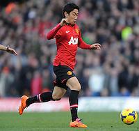 Manchester United's Shinji Kagawa.