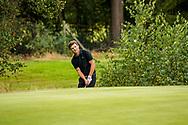 01-09-2016 Golffoto's van het Nationaal Open op de Hilversumsche Golf Club in Hilversum. Finale.  Lars Keunen
