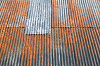 Rust på taket.<br /> Foto: Svein Ove Ekornesvåg