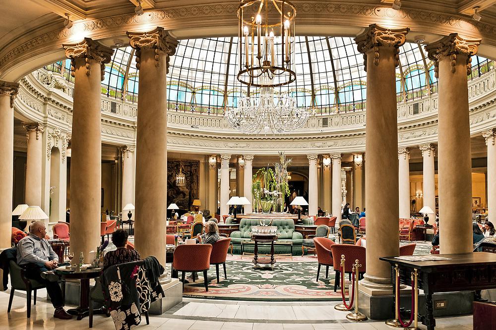 La Rotunda, Westin Palace Hotel, Madrid, Spain