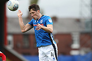 Jim McNulty during the EFL Sky Bet League 1 match between Rochdale and Gillingham at Spotland, Rochdale, England on 23 September 2017. Photo by Daniel Youngs.