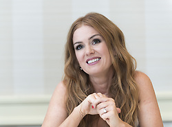 Isla Fisher  bei der Pk zum Film Keeping up with the Jones im Fairmont Mirama Hotel & Bungalows in Santa Monica / 081016<br /> <br /> *** USA EMBARGO TILL November  6th, 2016 *** Press conference of the action-comedy Keeping up with the Jones at the Fairmont Mirama Hotel & Bungalows in Santa Monica, CA, USA, October 8th, 2016***