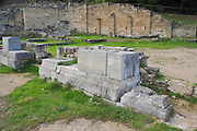 Greece, Rhodes, Kamiros, The Doric Temple 3rd - 2nd century BCE