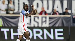 September 1, 2017 - Harrison, NJ, USA - Harrison, N.J. - Friday September 01, 2017:   Jozy Altidore during a 2017 FIFA World Cup Qualifying (WCQ) round match between the men's national teams of the United States (USA) and Costa Rica (CRC) at Red Bull Arena. (Credit Image: © John Dorton/ISIPhotos via ZUMA Wire)