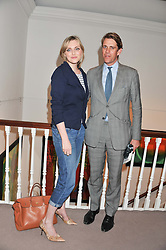 BEN ELLIOT and SOPHIE DAHL at a party to celebrate the publication of Can We Still Be Friends by Alexandra Shulman held at Sotheby's, 34-35 New Bond street, London on 28th March 2012.