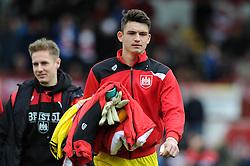 Max O'Leary of Bristol City - Mandatory by-line: Dougie Allward/JMP - 16/04/2016 - FOOTBALL - Griffin Park - Brentford, England - Brentford v Bristol City - Sky Bet Championship