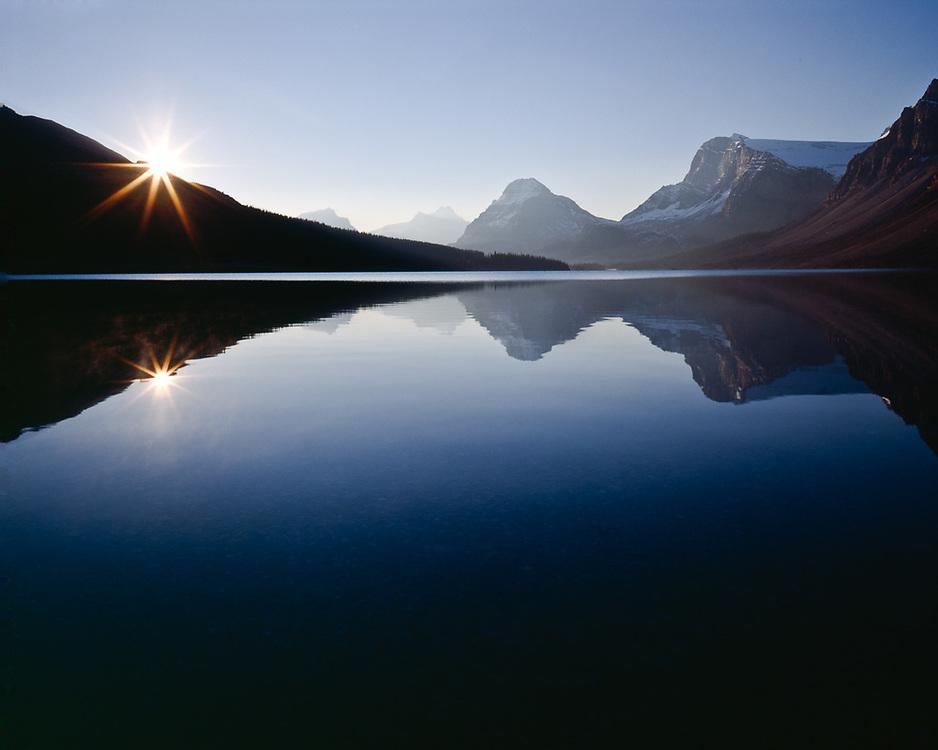 Bow Lake, autumn, Banff National Park, Alberta, Canada